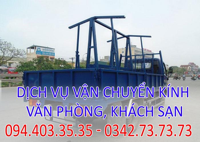 Dịch vụ vận chuyển kính văn phòng, khách sạn tại Hà Nội