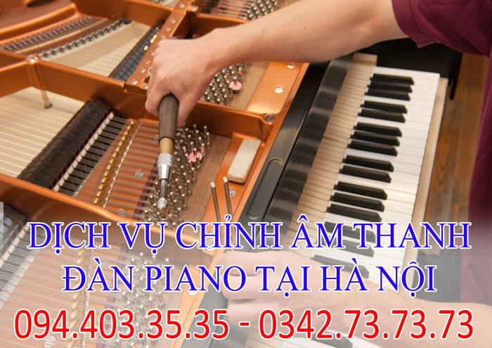 dịch vụ chỉnh âm thanh đàn piano