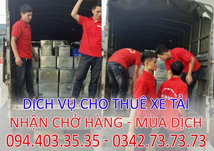 Dịch vụ chở hàng cồng kềnh chuyên nghiệp tại Hà Nội giá rẻ