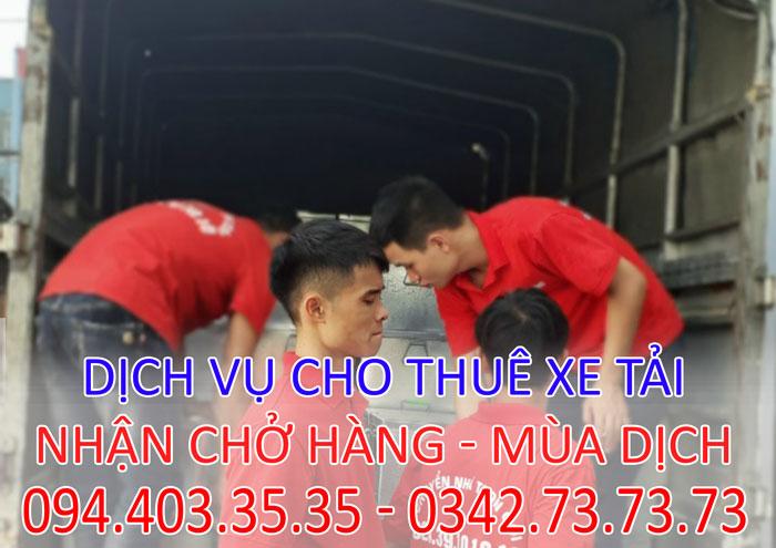 Dịch vụ chở hàng cồng kềnh chuyên nghiệp tại Hà Nội