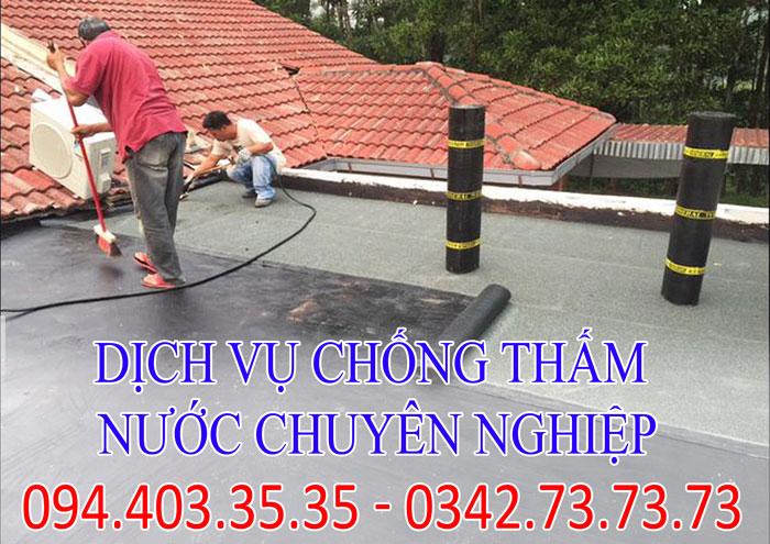 Dịch vụ chống thấm nước chuyên nghiệp tại Hà Nội