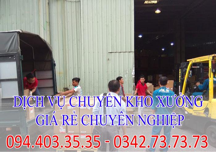 Dịch vụ chuyển kho xưởng giá rẻ chuyên nghiệp | 0342.73.73.73