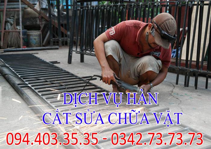 dịch vụ hàn, cắt sửa chữa vặt tại nhà