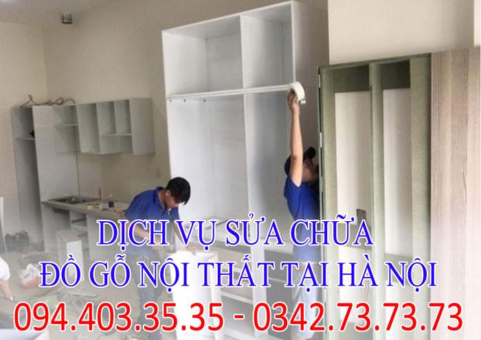 dịch vụ sửa chữa đồ gỗ nội thất tại Hà Nội