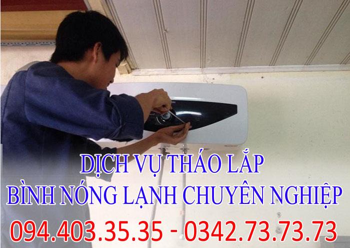 Dịch vụ tháo lắp bình nóng lạnh chuyên nghiệp tại Hà Nội giá rẻ