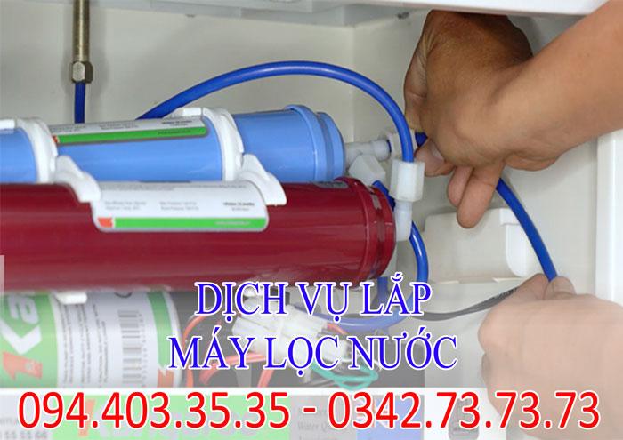 Dịch vụ lắp máy lọc nước chuyên nghiệp tại Hà Nội