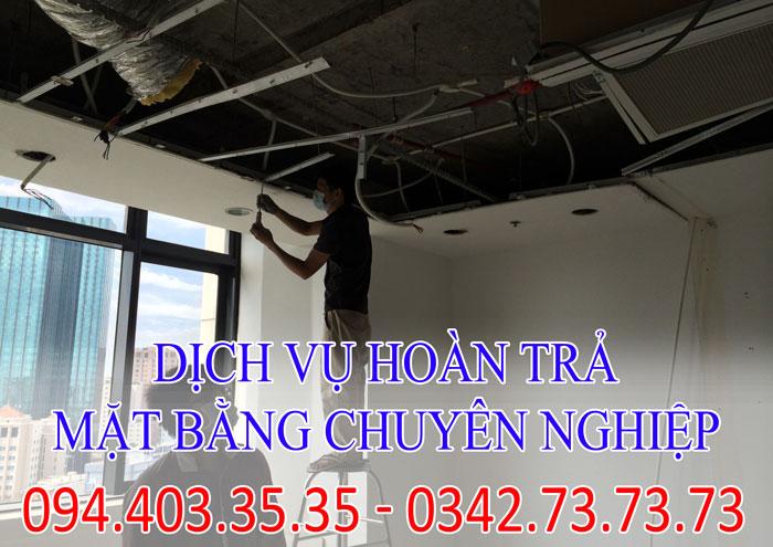 Top 1 công ty hoàn trả mặt bằng tại Thành phố Bắc Ninh chuyên nghiệp